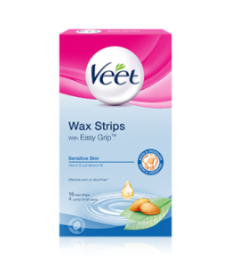 veet underam wax strips review